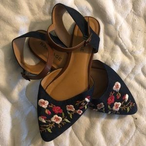 Floral Sandal Flats